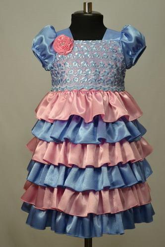 Как строится выкройка: платье для девочки 1 год 5